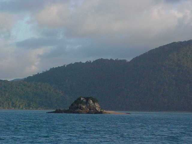 The Whitsunday Islands are some 75 islands in this area. They are named this way as Captain Cook sailed past them on White Sunday.