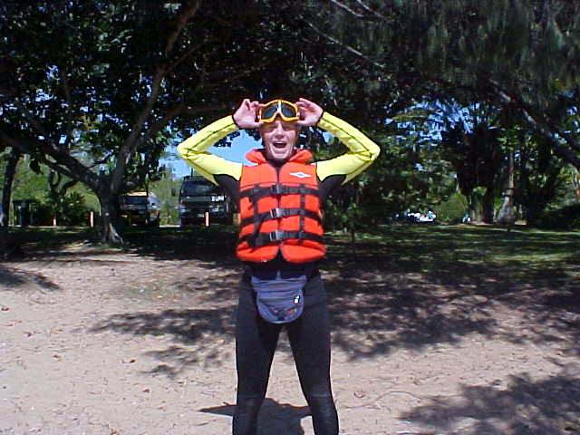 I am going on a jet ski ride!!!