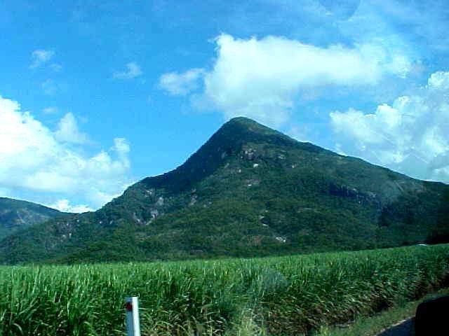 Mount Pyramid, halfway.