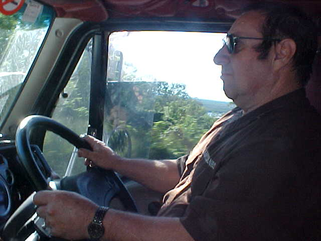 Bill Lovely, the first truck driver that stopped for me in thirteen months...