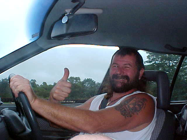 Geoff, the tour guide for todays drives around. Geoff is a cool guy!