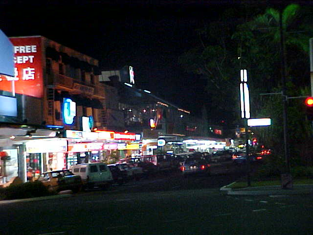 Cairns nightlife...