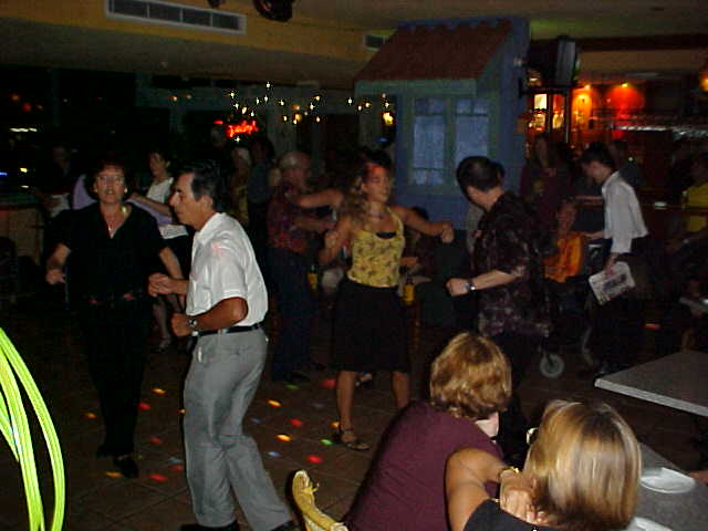 From the casino we moved on to Casa de Meze, a latin-American bar dancing...