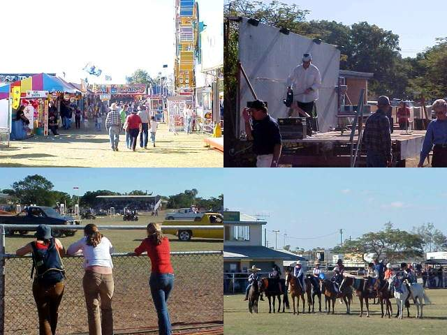 Walking through on the fairgrounds, seeing a man blow the dust of a musical stage (this is the Outback for real, haha), had a great view at the Ute Show and watched the Cloncurry Horse show.