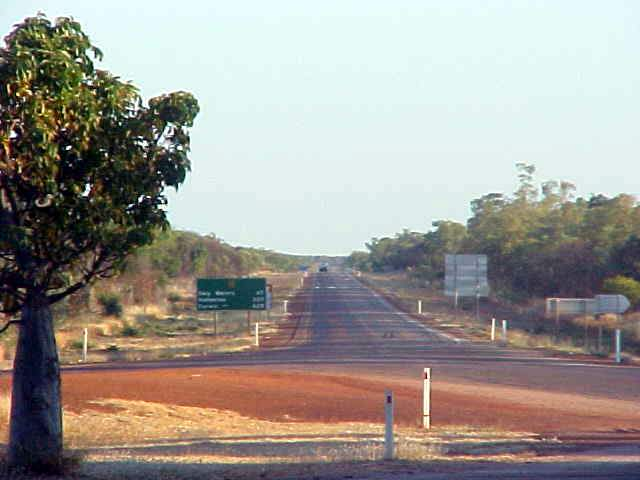 Darwin: another 600-something kilometres to go...
