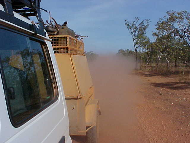 But we had to hit the road again, in the 4wd through the Kakadu National Park