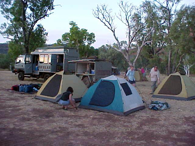 It was at the Victoria River Roadhouse where we set up our camp for the first night.