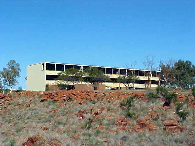 Dampier with it 60s style building project for the employers of the port.