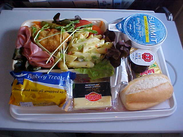 One of the best airline meals I have ever had.
