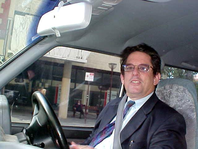 In the afternoon my next host from Mt Pleasant, John Cuthbertson, picked me up in the city centre.
