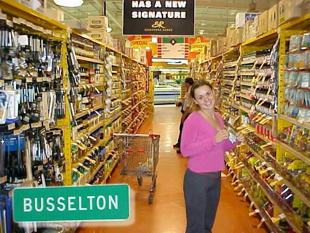 Grocerieshopping in Busselton