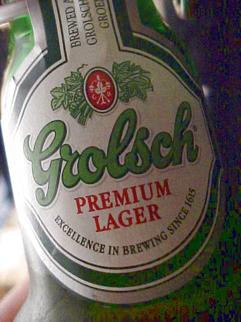 The evening ended with a amusing movie and with a real Dutch beer. The real best ale in the world still is Grolsch!
