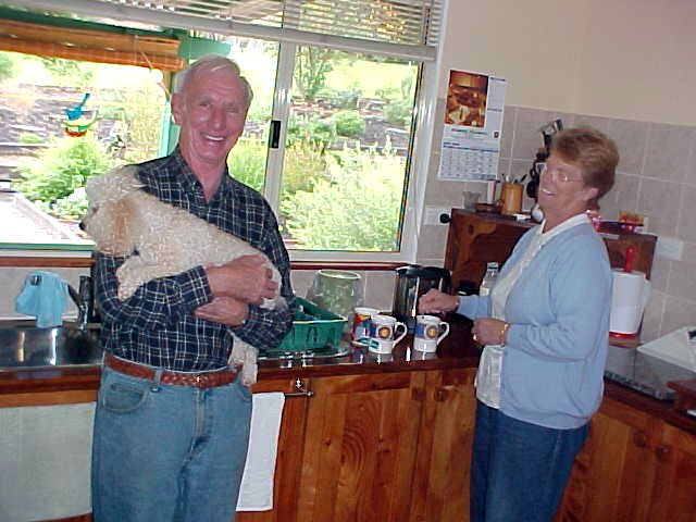 My hosts for today are the friendly Kevin and Maureen (and dog Bella) in Denmark.