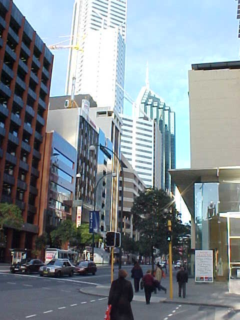 Metropolis Perth, but you can walk through the city centre in 20 mins.