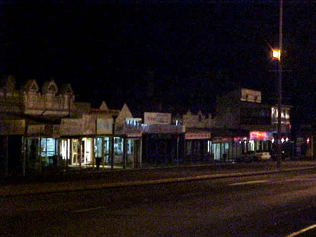 Around midnight the bus arrived in Kalgoorlie, Australias first mining town.
