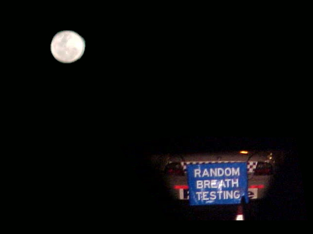 Full moon, breath tests... Of course!
