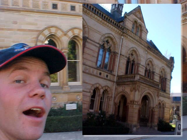 Hey! I want to study in Australia! I would love to walk in a building like this everyday!
