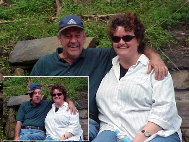 Wendy & George: isnt it a lovely couple?