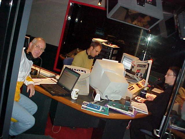 Welcomed by Jars and Sam during the Triple M breakfast show.