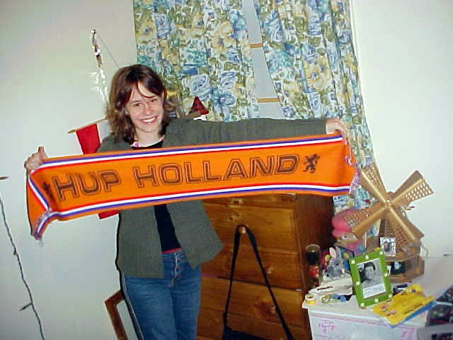 Yes, Alexandra has a little big fascination for Holland - or was it for the Dutch men only?