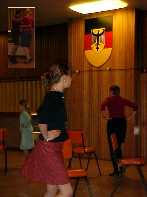 The folkdancing class first sounded like a joke to me, I never heard people really do that for a hobby.