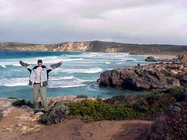 Greetings from Kangaroo Island! (Winter jacket cold though!)