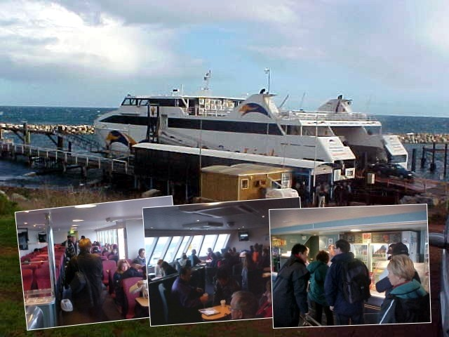 After a bus drive to Cape Jervis I got on board of the SeaLink ferry that would take me to Kangaroo Island.