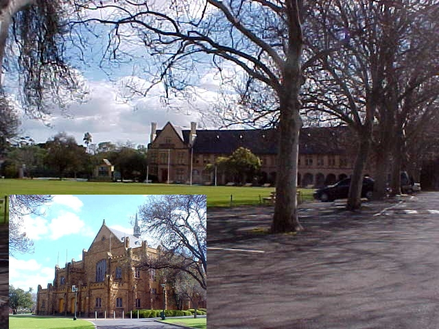 My next host was Gus Campbell, who picked me up from the city centre of Adelaide and took me around for a tour on the St Peter College grounds. Gus spent some 7 years on this boys school, almost in the middle of the city, never seen by travellers...