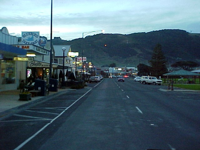 Arriving at our destination for today, the comfy town Apollo Bay.