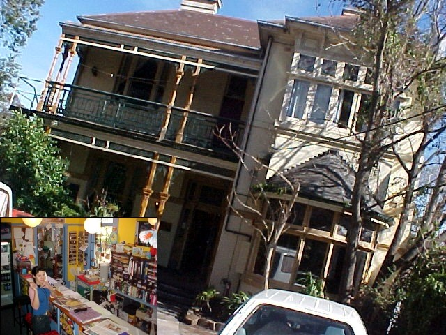 And look where I was invited for my first night in Melbourne! The Enfield House Backpackers, majesticly grand!
