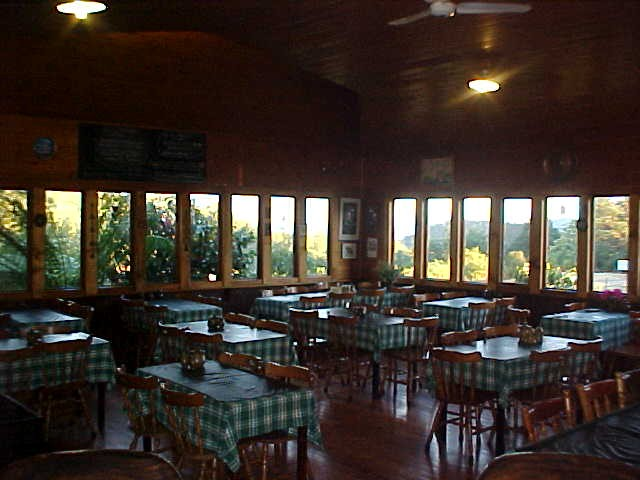 The restaurant of the Pancake Barn...