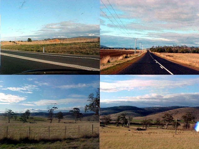 Enjoy the sceneries of the inland of Tasmania.