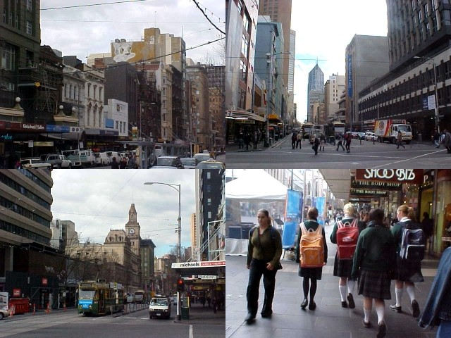 Good morning, sightseeing through the city centre of Melbourne.