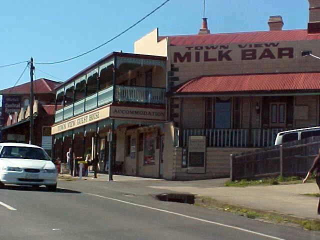 A milk bar? Is that where you buy milk at the bar?