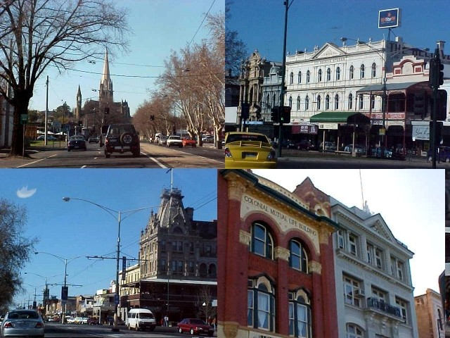 Bendigo is a small town, like Ballarat it has a similar gold rush history. And beautiful buildings!