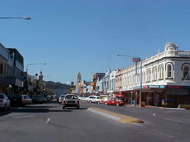 Downtown Albury.
