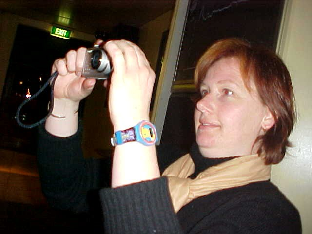 Mmm. I was not the only one with a digital camera.