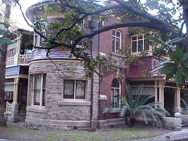 Glebe is a modern and cultural suburb of Sydney. Nice architecture of homes!