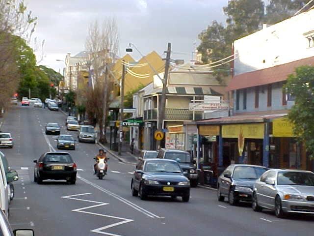 Impressions of Glebe Street...