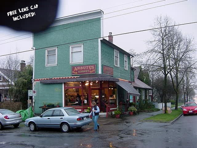 This is one of the oldest cornershops in Vancouver and this is where Emma works in the weekends.