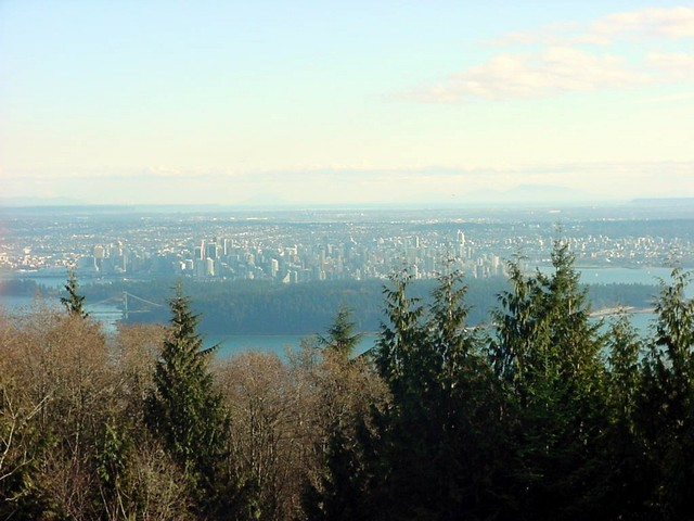 Gail took me along onto Cypress Mountain, one of the three mountains north of Greater Vancouver.