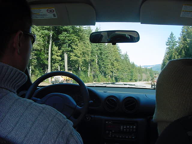 On the road to Whistler I got a lift from these two guys from Korea, Lee and Sui.