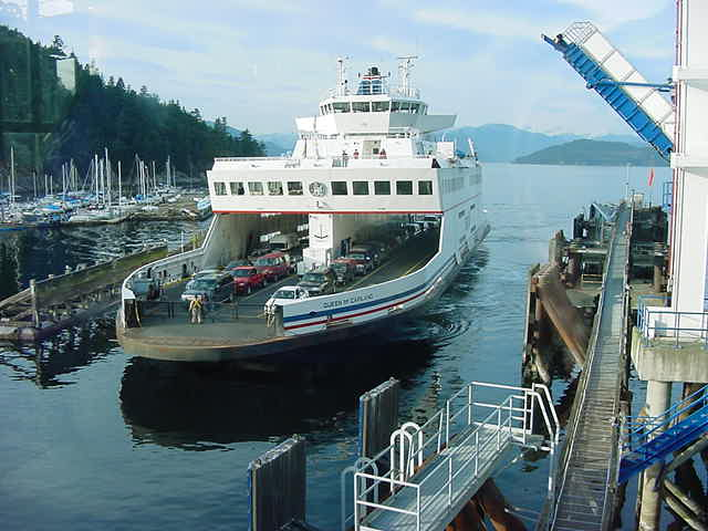 One of the ferries I saw departing at Horseshoe Bay. Unfortunately I missed the 3pm ferry to Vancouver Island, and I had to wait two hours for the next one to depart.