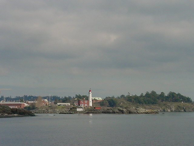 On the water (with my camera sealed in a water proof bag, I have learned from earlier adventures) we had this great view on the Fisgard Lighthouse.