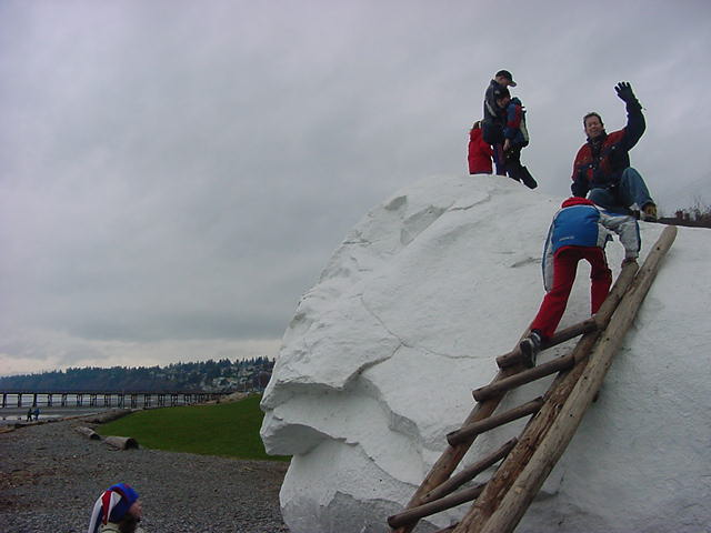 And a visit to White Rock is - of course --->