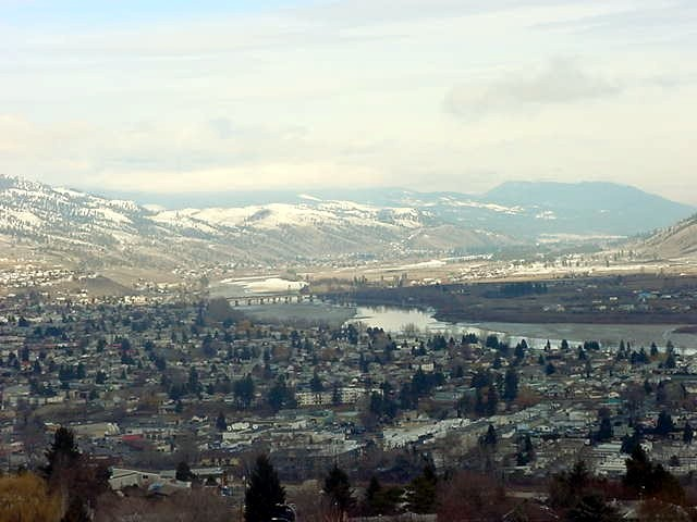 Some last peek at Kamloops before leaving it, heading northwest to 108 Mile Ranch.