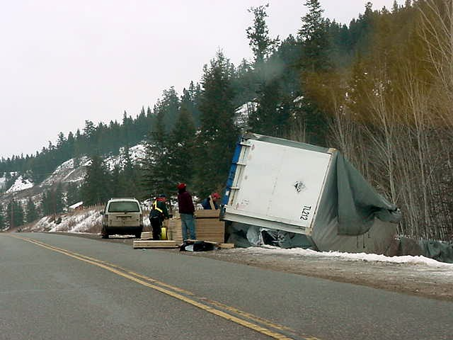 And for some folks the road was pretty slippery today.