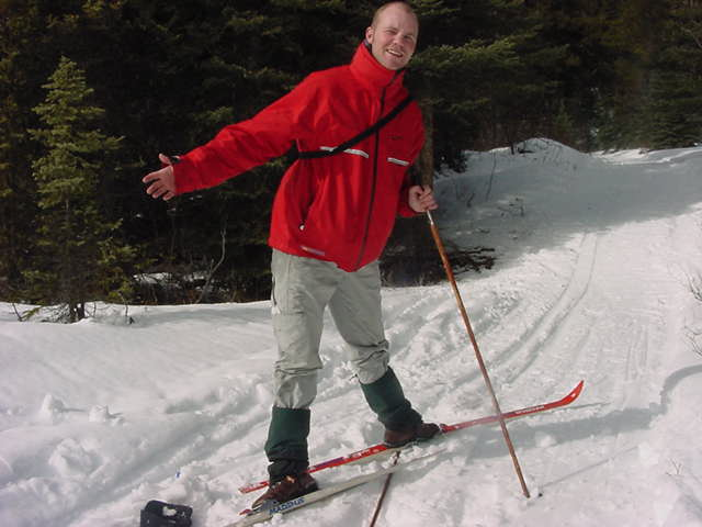 The scientific proof that cross country skiing is nothing for me....