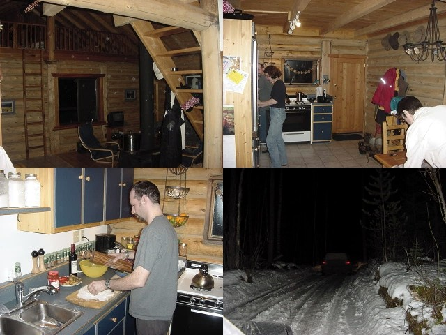 At night Thomas took me along to the remote house of his friends Jens and Danielle, who live along Bowron Lake, some 45km around the corner. If you talk about isolated...