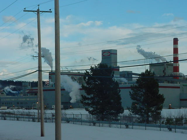 Bob works as a supervisor at the Northwood Pulp Mill in Prince George!